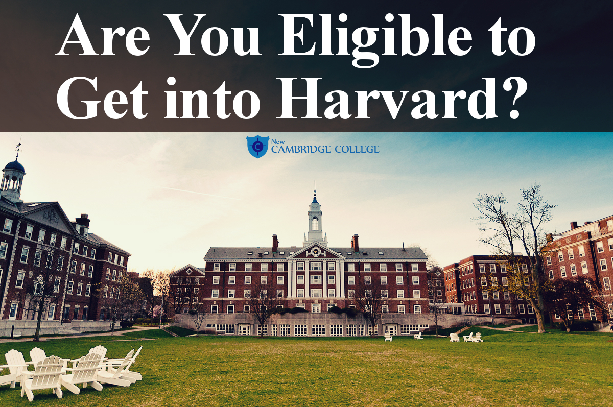 Are You Eligible to Get into Harvard