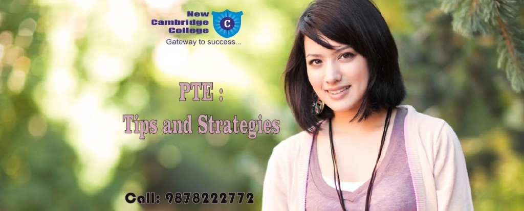 pte tips and strategies