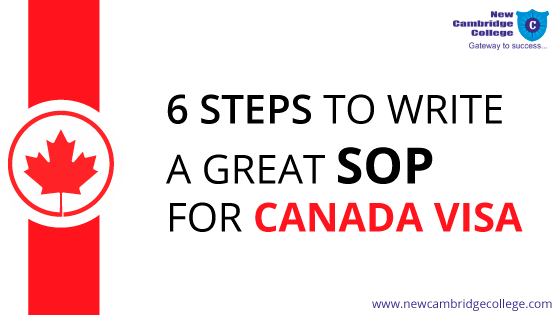 Tips for Writing SOP for Canada Visa