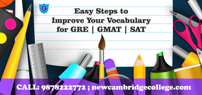 Vocabulary - English Speaking, GRE GMAT SAT